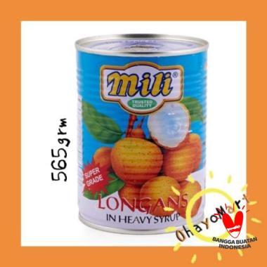 harga Mili Longan/ Buah kaleng/ buah kelengkeng/ longan syrup 565g Blibli.com