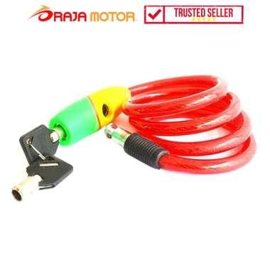 harga Snail Kunci Helm Besar TY501C - Aksesoris Motor Merah Blibli.com