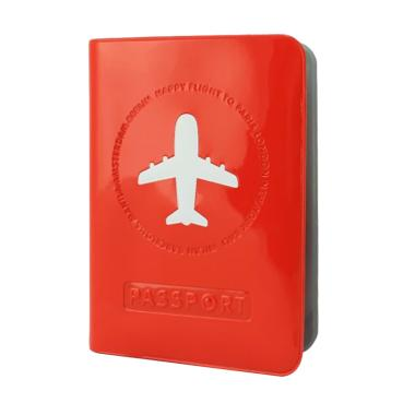 Passport Original Passport Wallet P ... Travel Waterproof - Merah