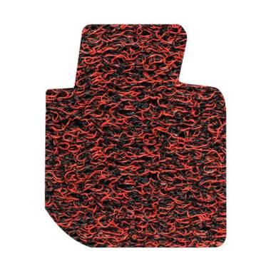 Comfort Karpet Mobil for All New Toyota Yaris - Red Black [Kabin]