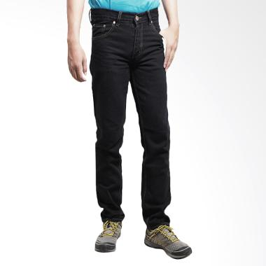2Nd Red Denim Regular Fit - Black 111613