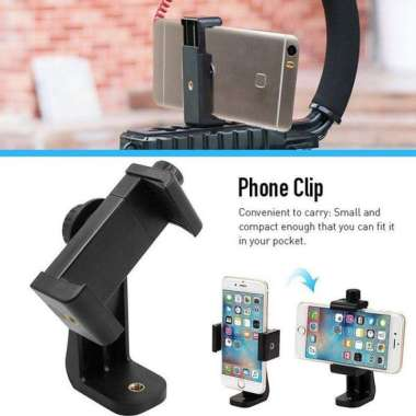 harga Promo ice Universal Smartphone Tripod Adapter Cell Phone Holder Gunung untuk iPhone iPad Berkualitas Blibli.com