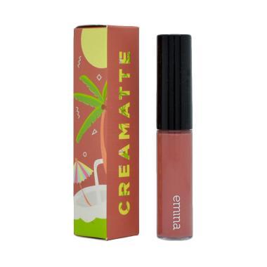 Emina Creamatte Lipstik - 02 Fuzzy Wuzzy [5.5 g]