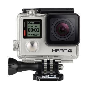GoPro Hero4 Black Edition Action Cam - Abu - abu [12MP]