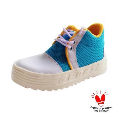 Onemarkets baby shoes- sepatu sandal anak kecil cowok B04 - Light Blue