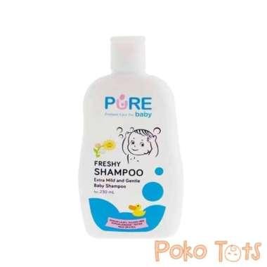 harga Pure Baby Shampoo Freshy Shampo Bayi dan Anak [230 mL] Blibli.com