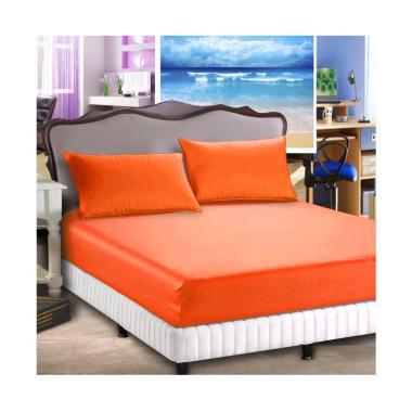 Jaxine Sprei Set Waterproof (Anti Air-Ompol) Orange