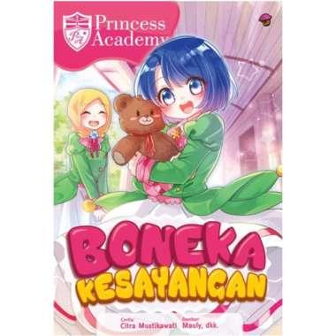 harga Buku Mizan Komik Princess Academy Boneka Kesayangan Rpl Blibli.com
