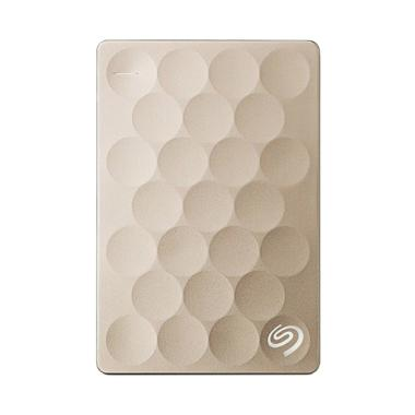 Seagate - Backup Plus Ultra Slim HD ... 000301] Gold + Free Pouch