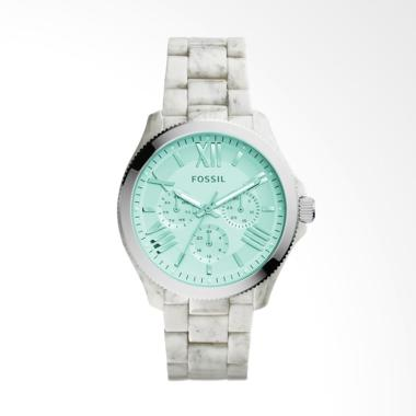 Fossil AM4644 Cecile Ladies Jam Tangan Wanita - White