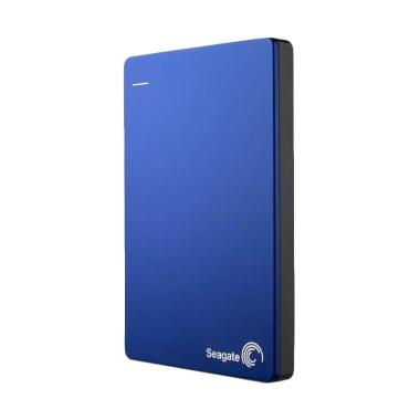 Seagate - Backup Plus Slim HD Ekste ... 000302] Blue + Free Pouch