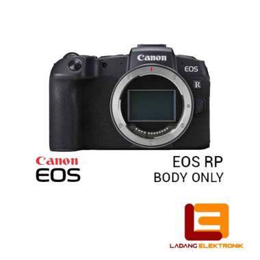 Canon EOS RP BO Mirrorless Digital Camera (Body Only) - LADANG Hitam