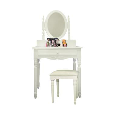 Dove's Furniture Meja Rias MR013 - White