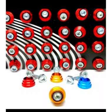 harga Baut Mur Aluminium Plat Nomer No Prisma Aksesoris Motor Universal YELLOW Blibli.com