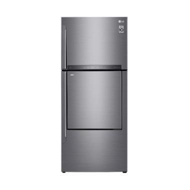 LG GC-A432HLHU Kulkas Dua Pintu 168 Cm [Door in Door / 444 L]