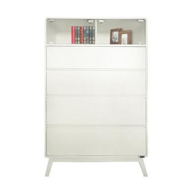 Dove's Furniture Rak Serba Guna RS-027 - White