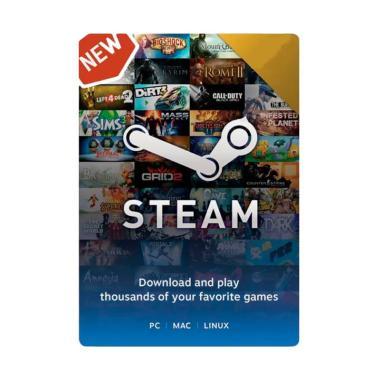 Steam Wallet Digital Codes Voucher Game [IDR 8.000]