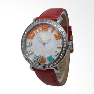 Alexandre Christie 141250 Analog Pe ... gan Wanita - Silver Merah