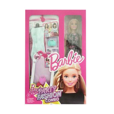 Barbie Party Fashion Combo with Black Dress Doll