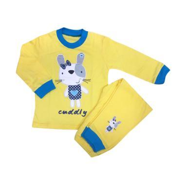 Amaris Fashion 004 Baju Tidur Anak Perempuan - Kuning