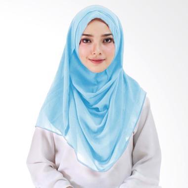 Milyarda Hijab Hijab instan Taqia  baby blue