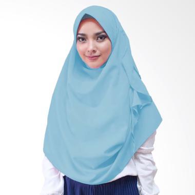 Milyarda Hijab Flowli Pad Hijab Instan - Baby Blue
