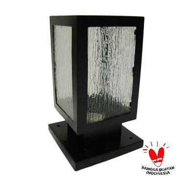 ATN LP 005 Pilar Minimalis Lampu Taman - Hitam