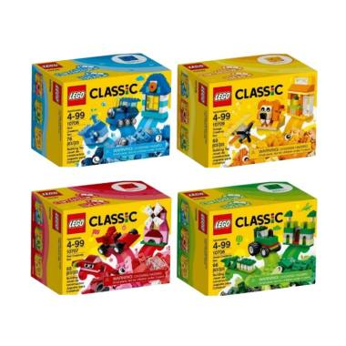 Daily Deals - LEGO Classic Set Mainan Blok [4 Box]