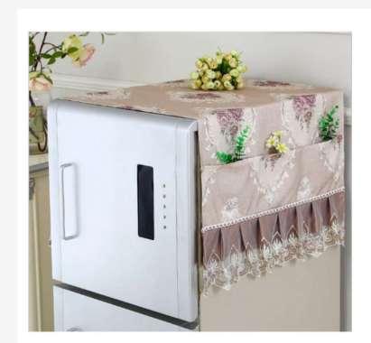 harga Taplak Meja Table Runner Tutup Microwave Sarung Tutup Kulkas Refrigerator Shabby Lace Cover Series Table Runner L Coffee Blibli.com