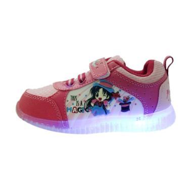 Ardiles Lampu Monik Sepatu Anak - Red