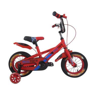 RMB Cube Sepeda Anak - Merah [12 Inch]