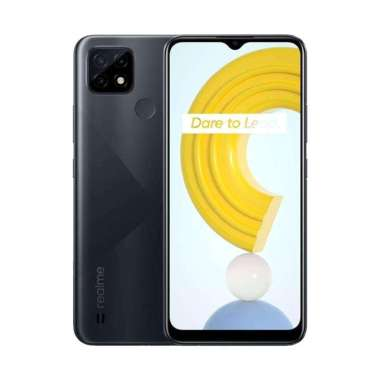 harga Realme C21 Smartphone [3GB-32GB] Cross Black Blibli.com