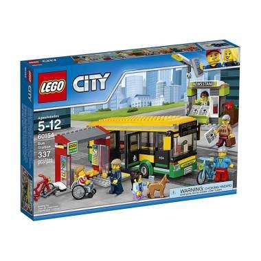 LEGO City 60154 Bus Station Mainan Blocks