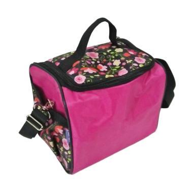 ASI Kit Cooler Bag - Magenta Flowers