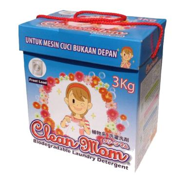 Clean Mom Biodegradable Powder Detergent [3 kg]