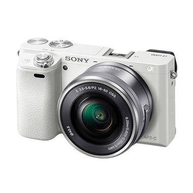 Concept Shop - SONY A6000L Kit 16-50MM - White. A6000. A 6000
