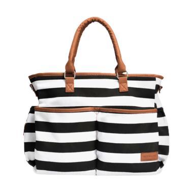 Mooimom Lady Diaper Bag Tas Perlengkapan Bayi - Black