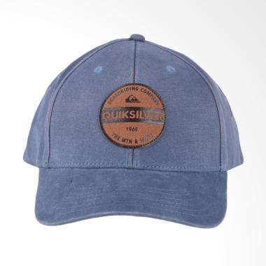 Quiksilver Blues Buster Hdwr Topi Pria - Navy Blazer AQYHA03842-BYJ0