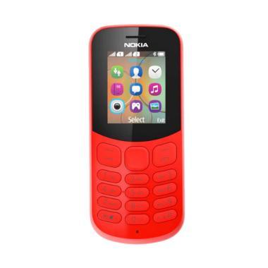 Nokia 130 2017 Handphone - Red [Dual SIM/ Garansi Resmi]