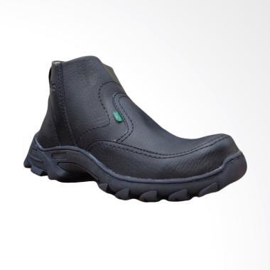 Kickers Safety Phelix Sepatu Boot Pria - Hitam