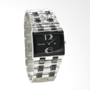 Balmer B 7959LCS Jam Tangan Wanita - Silver Kombinasi Hitam