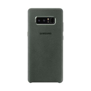 Samsung Original Alcantara Cover Casing for Galaxy Note 8 - Green