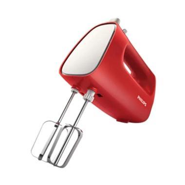 Philips HR-1552 Hand Mixer - Merah