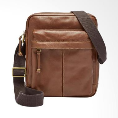 Fossil Defender NS City Bag Tas Selempang Pria - Brown MBG 9314200