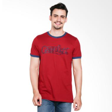 Greenlight Men Tshirt 7209 Kaos Pria - Red [272091712]