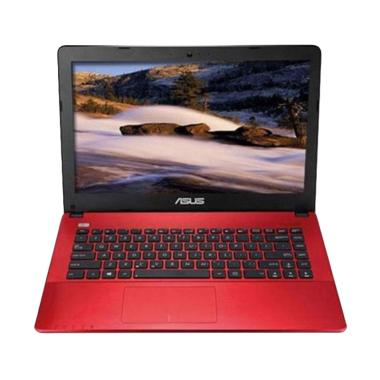 Asus X441NA-BX403T Notebook - Red [ ... GB/ Win 10 Home/ 14 Inch]