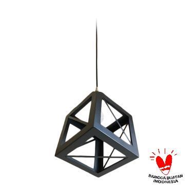 ATN LG- KUBUS2 029 Lampu Gantung Unik - Hitam