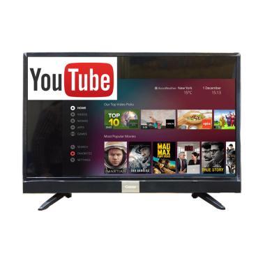 Coocaa 40S3A12G Smart Digital TV LED - Hitam [40 Inch] Resmi