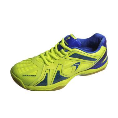 Flypower Mendut 02 Sepatu Badminton - Citrus Blue