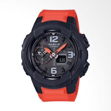 CASIO Baby-G BGA-230-4BDR Standard  ... gan Wanita - Black Orange